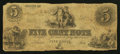 Obsoletes By State:Ohio, Unknown, OH - Unknown Issuer 5c Mar. 17, 1853. ...