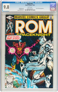 Modern Age (1980-Present):Superhero, Rom #12 (Marvel, 1980) CGC NM/MT 9.8 White pages....