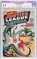 Silver Age (1956-1969):Superhero, The Brave and the Bold #28 Justice League of America (DC, 1960) CGCApparent VG 4.0 Slight (A) Cream to off-white pages....