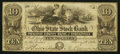 Obsoletes By State:Ohio, Circleville, OH - Pickaway County Bank at Circleville - Ohio StateStock Bank Counterfeit $10 Jan. 13, 1852. ...