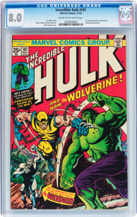 The Incredible Hulk #181 (Marvel, 1974) CGC VF 8.0 Cream to off-white pages