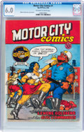Silver Age (1956-1969):Alternative/Underground, Motor City Comics #1 First Printing (Rip Off Press, 1969) CGC FN6.0 Off-white to white pages....