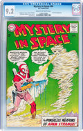 Silver Age (1956-1969):Science Fiction, Mystery in Space #84 (DC, 1963) CGC NM- 9.2 Cream to off-white pages....