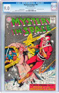 Silver Age (1956-1969):Science Fiction, Mystery in Space #86 (DC, 1963) CGC VF/NM 9.0 Cream to off-white pages....