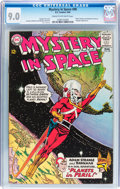 Silver Age (1956-1969):Science Fiction, Mystery in Space #90 (DC, 1964) CGC VF/NM 9.0 Cream to off-whitepages....