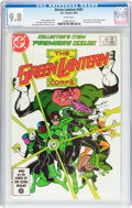 Modern Age (1980-Present):Superhero, Green Lantern #201 (DC, 1986) CGC NM/MT 9.8 White pages....