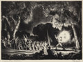 Prints, PETER HURD (American, 1904-1984). Sermon from 'Revelations', 1937. Lithograph. 9-7/8 x 13-3/8 inches (25.1 x 34.0 cm) (i...