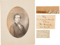 Political:Presidential Relics, Mary Surratt: Relics and Ephemera. ... (Total: 5 Items)