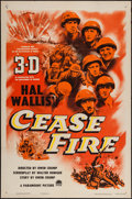 """Movie Posters:War, Cease Fire! (Paramount, 1953). One Sheet (27"""" X 41"""") 3-D Style.War.. ..."""