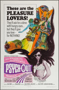 "Movie Posters:Exploitation, Psych-Out (American International, 1968). One Sheet (27"" X 41"").Exploitation.. ..."