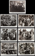 """Movie Posters:Western, Wild Bill Hickok Rides (Warner Brothers, 1942). Photos (7) (8"""" X 10""""). Western.. ... (Total: 7 Items)"""