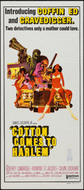 "Movie Posters:Blaxploitation, Cotton Comes to Harlem (United Artists, 1970). Australian Daybill (13.25"" X 30""). Blaxploitation.. ..."
