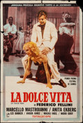 """Movie Posters:Foreign, La Dolce Vita (Rank, 1959). Argentinean Poster (29"""" X 43""""). Foreign.. ..."""