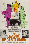 "Movie Posters:Crime, The League of Gentlemen (Rank, 1960). British One Sheet (27"" X40""). Crime.. ..."