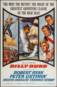 "Billy Budd (Allied Artists, 1962). One Sheets (2) (27"" X 41"") Regular & Review Style. Adventure. ... (Tota..."