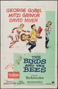 "Movie Posters:Comedy, The Birds and the Bees (Paramount, 1956). One Sheets (4) (27"" X 41""). Comedy.. ... (Total: 4 Items)"