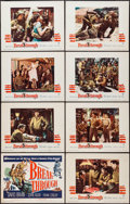 "Movie Posters:War, Breakthrough (Warner Brothers, 1950). Lobby Card Set of 8 (11"" X 14""). War.. ... (Total: 8 Items)"