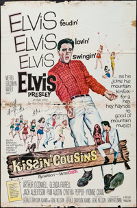 "Kissin' Cousins (MGM, 1964). One Sheets (3) (27"" X 41""). Elvis Presley. ... (Total: 3 Items)"