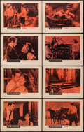 """Movie Posters:Western, The Left Handed Gun (Warner Brothers, 1958). Lobby Card Set of 8 (11"""" X 14""""). Western.. ... (Total: 8 Items)"""