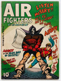 Golden Age (1938-1955):War, Air Fighters Comics #12 (Hillman Fall, 1943) Condition: FN-....