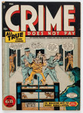 Golden Age (1938-1955):Crime, Crime Does Not Pay #47 (Lev Gleason, 1946) Condition: VG-....