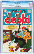 Silver Age (1956-1969):Humor, Date With Debbi #1 (DC, 1969) CGC NM 9.4 White pages....