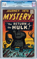 Journey Into Mystery #66 (Marvel, 1961) CGC FN/VF 7.0 Off-white to white pages