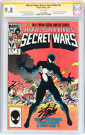 Modern Age (1980-Present):Superhero, Marvel Super Heroes Secret Wars #8 Signature Series (Marvel, 1984)CGC NM/MT 9.8 White pages....