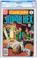 Bronze Age (1970-1979):Western, Jonah Hex #1 (DC, 1977) CGC NM- 9.2 White pages....