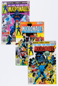 Modern Age (1980-Present):Science Fiction, Micronauts Group (Marvel, 1979-86) Condition: Average NM-....(Total: 55 Comic Books)