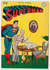 Superman #43 (DC, 1946) Condition: VG/FN