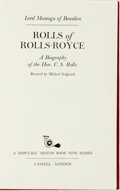 Books:Biography & Memoir, Lord Montagu of Beaulieu. INSCRIBED/LIMITED. Michael Sedgewick,researcher. Rolls of Rolls-Royce: A Biography of the Hon...