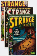 Golden Age (1938-1955):Science Fiction, Strange Tales Group (Atlas/Marvel, 1953-62) Condition: ApparentGD.... (Total: 16 Comic Books)