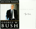 Books:Biography & Memoir, George W. Bush. SIGNED. Decision Points. New York: CrownPublishers, [2010]. First edition. Signed by the author....