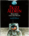 Books:Children's Books, Buzz Aldrin. SIGNED. Reaching for the Moon. HarperCollins,[2005]. Paintings by Wendell Minor. Signed by Aldrin an...