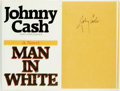 Books:Literature 1900-up, Johnny Cash. SIGNED. Man in White. San Francisco: Harper& Row, [1986]. First edition. Signed by the author. Pub...