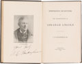 Miscellaneous:Ephemera, Doorman at Ford's Theatre: Author-Signed Book Owned by VicePresident Adlai Stevenson. ...