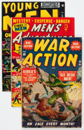 Golden Age (1938-1955):War, Atlas Comics Golden Age War Related Group (Atlas, 1951-58) Condition: Average VG/FN.... (Total: 41 Comic Books)