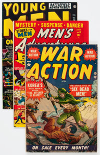 Atlas Comics Golden Age War Related Group (Atlas, 1951-58) Condition: Average VG/FN.... (Total: 41 Comic Books)