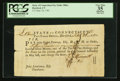 Colonial Notes:Connecticut, Connecticut Fiscal Paper Pay Table Office £15 September 26, 1781PCGS Apparent Very Fine 35.. ...