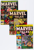 Golden Age (1938-1955):Horror, Marvel Tales Group (Atlas, 1950-57) Condition: Average VG+....(Total: 7 Comic Books)