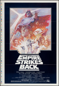 """The Empire Strikes Back (20th Century Fox, 1980). One Sheet (27"""" X 41""""), Printer's Proof. Science Fiction"""