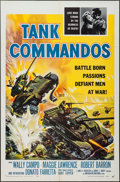 "Movie Posters:War, Tank Commandos (American International, 1959). One Sheet (27"" X41"") & Lobby Card Set of 8 (11"" X 14""). War.. ... (Total: 9Items)"