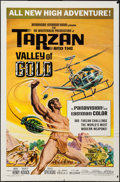 "Movie Posters:Adventure, Tarzan and the Valley of Gold & Other Lot (AmericanInternational, 1966). One Sheet (27"" X 41""), Title Lobby Card &Lobby Ca... (Total: 8 Items)"