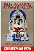 "Movie Posters:Drama, Billy Jack Goes to Washington (Taylor-Laughlin Productions, 1977). One Sheet (27"" X 41"") Advance. Drama.. ..."