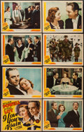 "Movie Posters:Comedy, I Love You Again (MGM, 1940). Lobby Card Set of 8 (11"" X 14""). Comedy.. ... (Total: 8 Items)"
