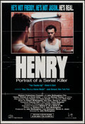 "Movie Posters:Crime, Henry: Portrait of a Serial Killer (Greycat, 1990). One Sheet (27""X 40""). Crime.. ..."