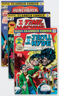 Bronze Age (1970-1979):Classics Illustrated, Marvel Classics Comics #1-36 Complete Series Group (Marvel,1976-78) Condition: Average NM-.... (Total: 37 Comic Books)