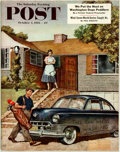Books:Periodicals, [Periodical] The Saturday Evening Post. 1953. FeaturingThe Case of the Fugitive Nurse by Erle Stanley Gardner. ...