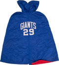 Football Collectibles:Uniforms, Mid-1960's Alex Webster Game Worn New York Giants Sideline Cape....